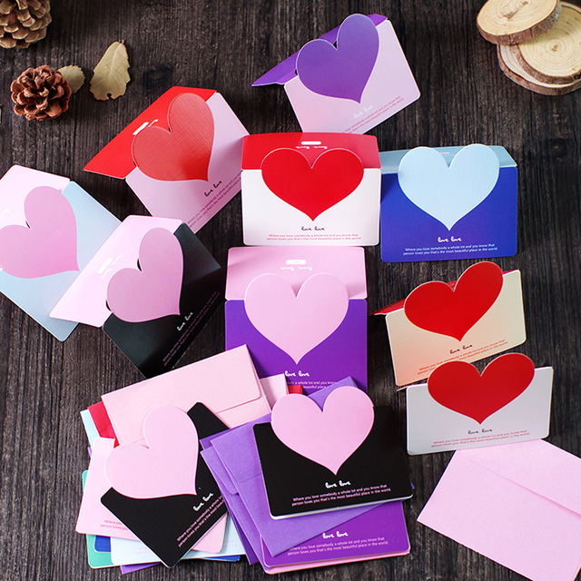 5 Pcs Lot Pesta Hari Guru Hari Ibu Hari Valentine Kartu Ucapan