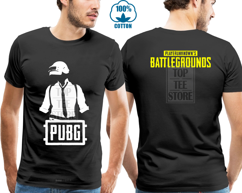 New Pubg Tshirt Playerunknowns Battlegrounds Gaming Tees Gamers Pubg   T     Shirt   Cartoon   T     Shirt   Men Unisex New Fashion Tshirt