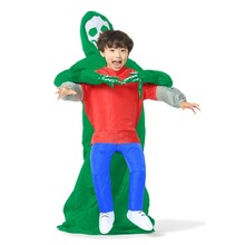 Grim Reaper Adult Kid Unisex Inflatable Demon Azrael Death Costume Halloween  Evil Horror Cosplay Devil Fancy Suits