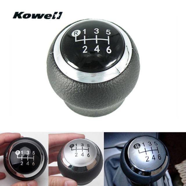 6 Speed PU Leather MT Gear Shift Knob for TOYOTA RAV4 AVENSIS YARIS D4D URBAN / Corolla 1.8MT 07-13 Shifter Lever Stick Headball