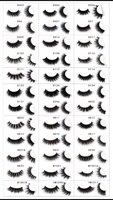 27 Pairs 3D Mink False Eyelashes Extension Fake Lashes Full Strip Lashes