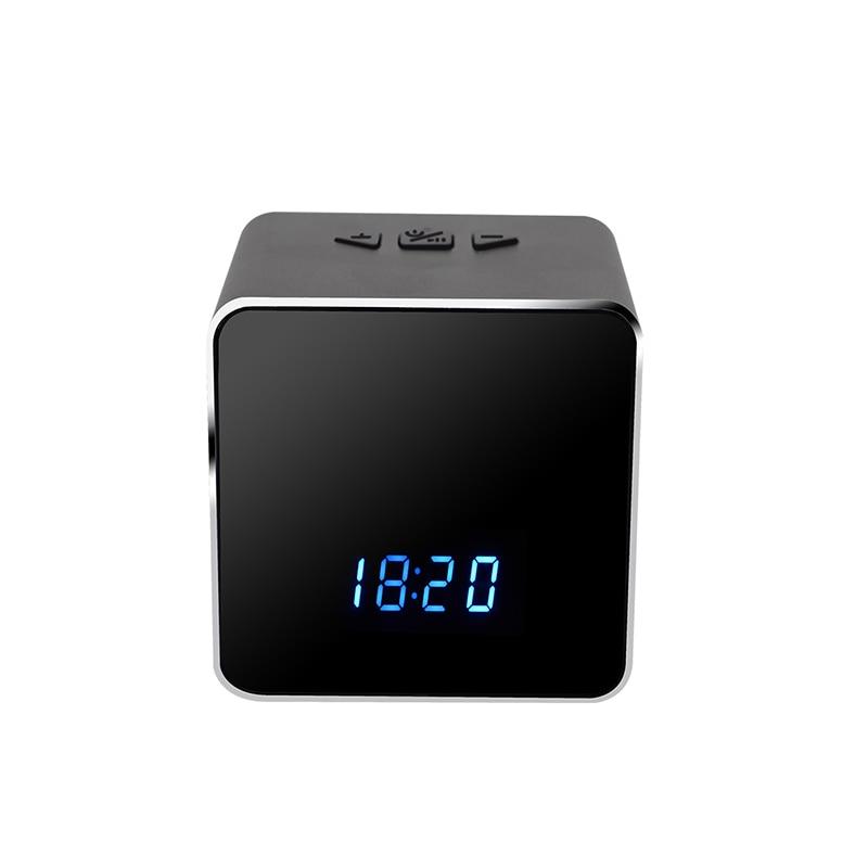 WiFi Table Clock Child Kid Camera 4K 12MP HD IP P2P DVR Camcorder Alarm IR Night