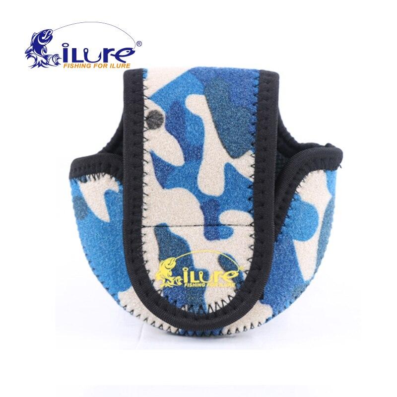 Prix pour Ilure 3 couleurs eva sécurité roue réglable tactique pouch holder pour moulinet de pêche sports de plein air matériel de pêche pesca paquet