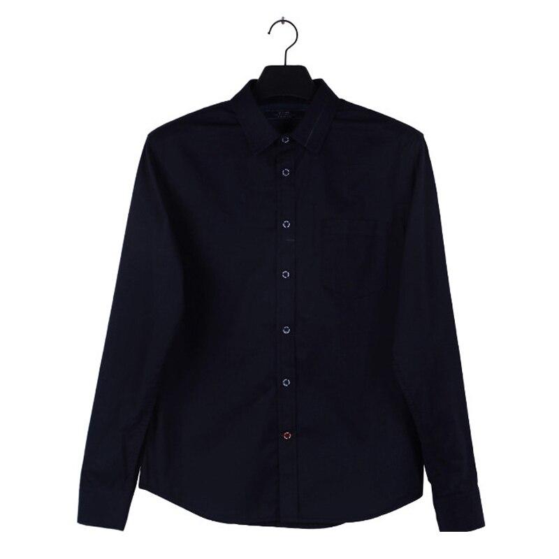 Oversized Denim Shirt Long Sleeve Men 2015 Dark Black Camisa ...