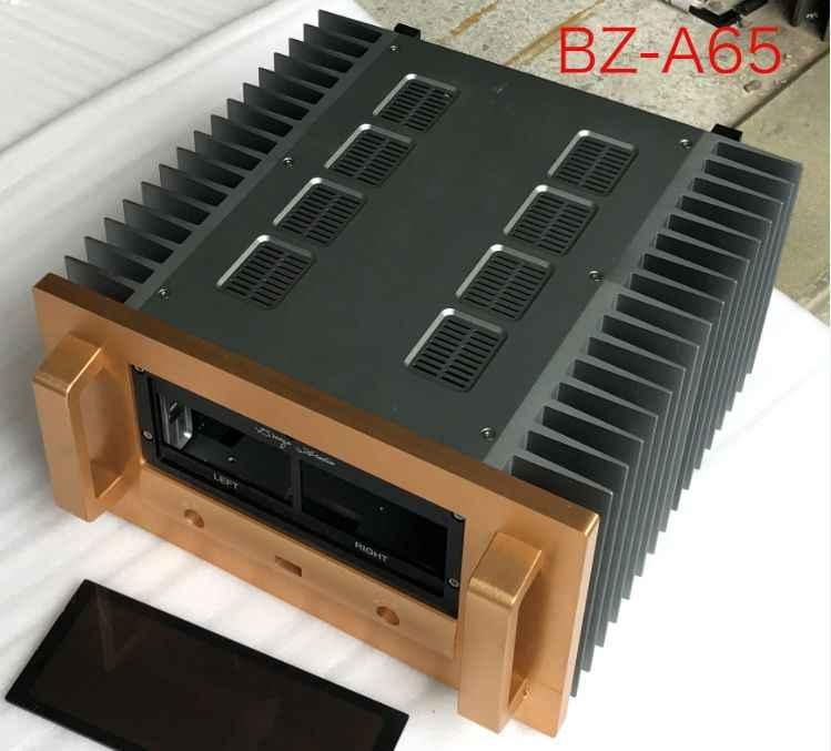 BRZHIFI BZ-A65 כפול רדיאטור אלומיניום מקרה מגבר כוח