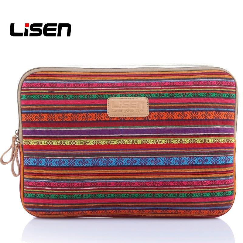 Lisen Ethnic Pattern Laptop Sleeve Notebook Carry Bag 1112131415 Power Mouse Bag Computer Bag for Macbook Lenovo Liner Bag