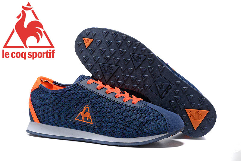official photos f2678 a57ad le coq sportif shoes orange blue