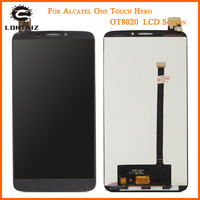 High Quality For Alcatel One Touch Hero OT8020 8020 8020D LCD Screen With Touch Screen Digitizer
