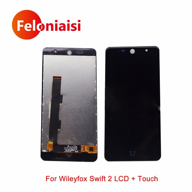 """High Quality 5.0"""" For Wileyfox Swift 2 Full Lcd Display With Touch Screen Digitizer Panel Assembly Complete+Tracking Code"""