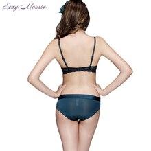 Gathered Push Up Brassiere Vs Underwear Sets