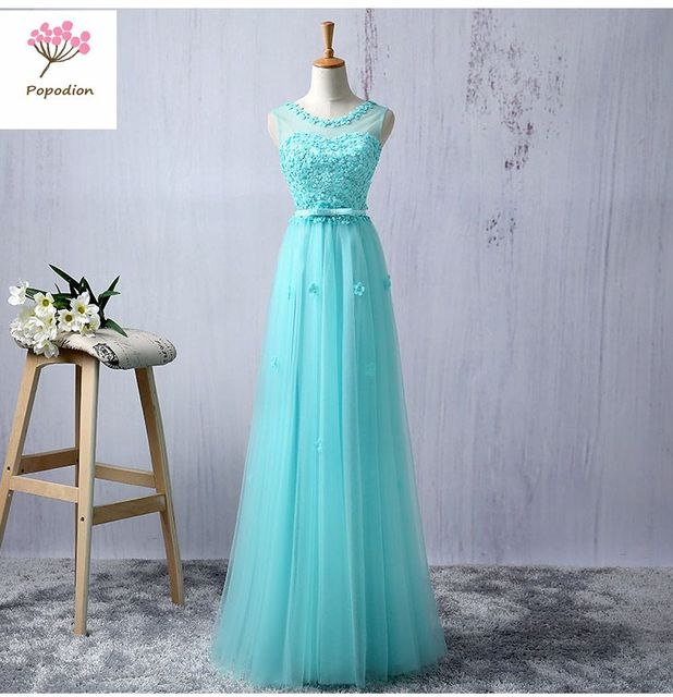 Popodion bridesmaid dresses long for wedding guests dress sister ...