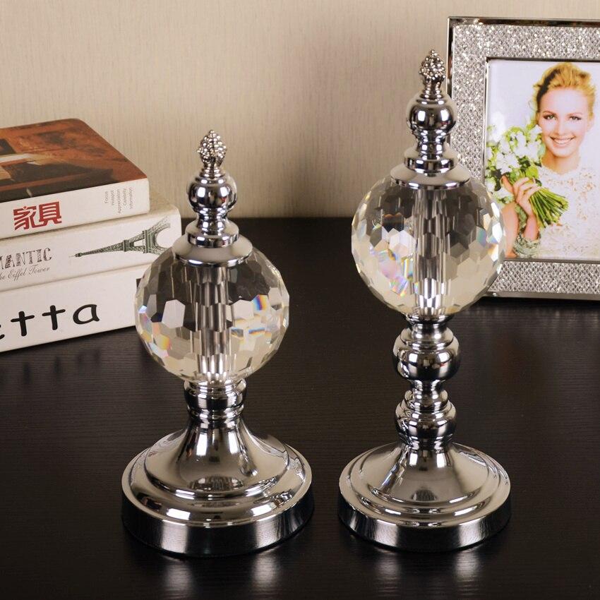 Europe cristal artisanat Feng Shui ornements Figurines verre presse-papiers cadeaux de fête décoration de mariage Souvenirs cristal artisanat