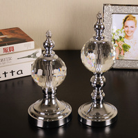 Europe Crystal Crafts Feng Shui Ornaments Figurines Glass Paperweight Party Gifts Wedding Decoration Souvenirs Crystal Crafts