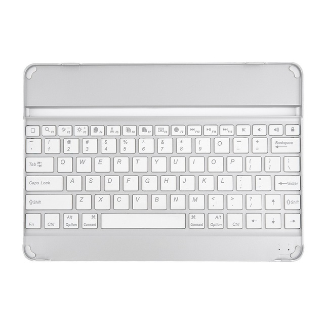 Ultra-thin Aluminum Wireless Bluetooth Keyboard Case Cover For ipad 2/3/4 2016 best sale