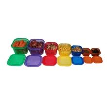 7 Unids/set Multicolor Control de Porciones de Alimentos Contenedor Gimnasio Workout Plan de Nutrición Comiendo Comidas Almuerzo Cena del Hogar Caja de Herramientas
