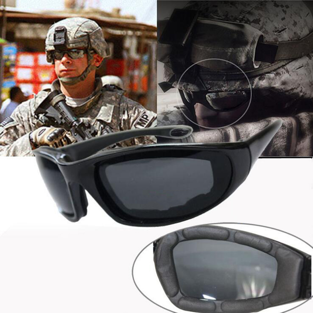 MASCUBE New Hiking Army Goggles Sunglasses Men Military Sun Glasses For Mens Desert Jung ...