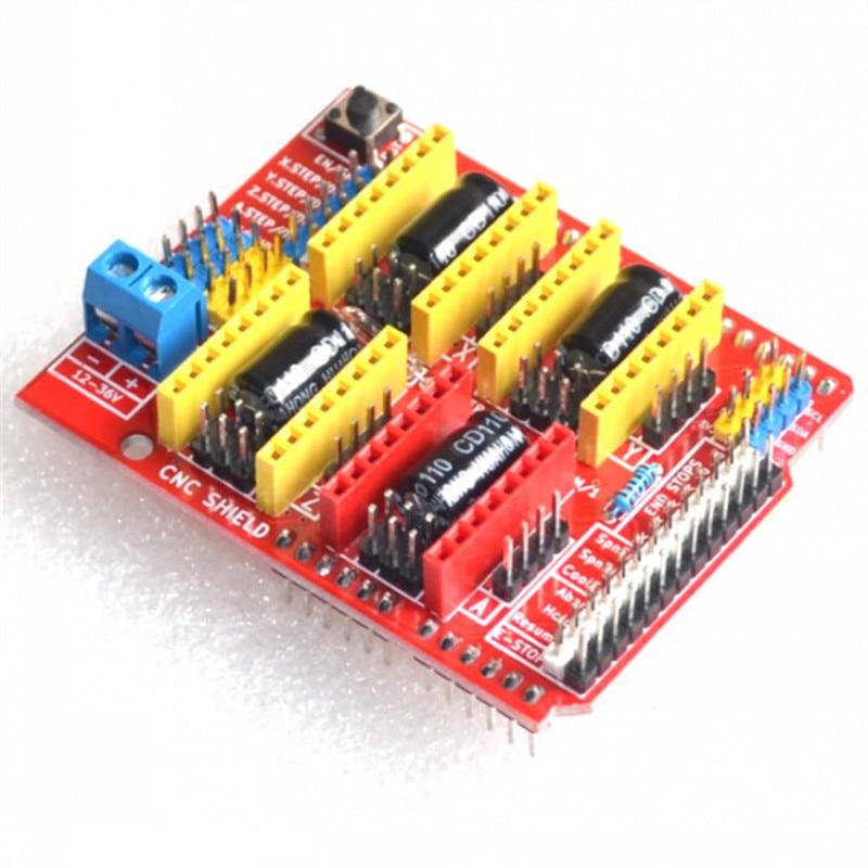 A4988 Driver CNC Shield Expansion Board for Arduino V3 Engraver 3D Printer hf 3dv3 cnc v3 expansion module red