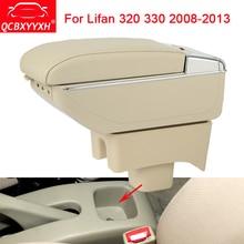 QCBXYYXH Автомобильный дизайн ABS автомобиль подлокотник окно центральной консоли коробка для хранения держатель дело автоаксессуары, пригодный для Lifan 320 330 2008-2013