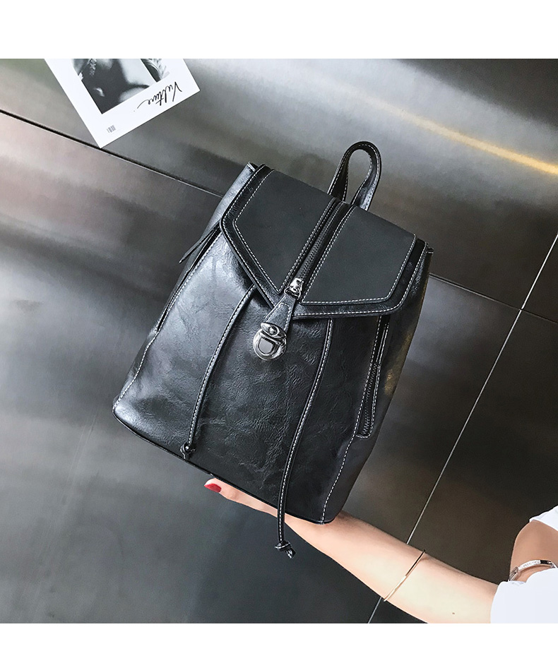 HTB1Pb62bRKw3KVjSZFOq6yrDVXaE Vintage Matte Leather Women Backpacks High Quality Multifunctional Shoulder Bag Female Girls Backpack Retro Schoolbag XA533H