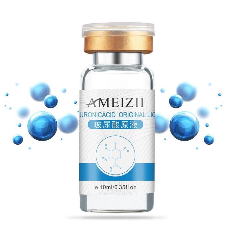 Pure Hyaluronic Acid Liquid Skin Care Moisturizing Whitening Snail Repair Anti Wrinkle Cream Anti Aging Face Care 10ml