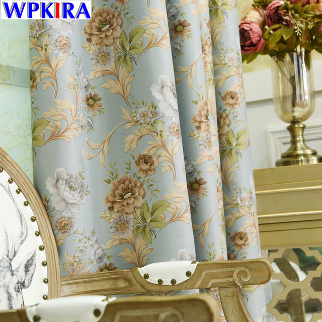 Fancy Flora Curtains For The Bedroom Living Room Decor Modern Curtain D Sheer Tulle Window Treatments Hc006 30