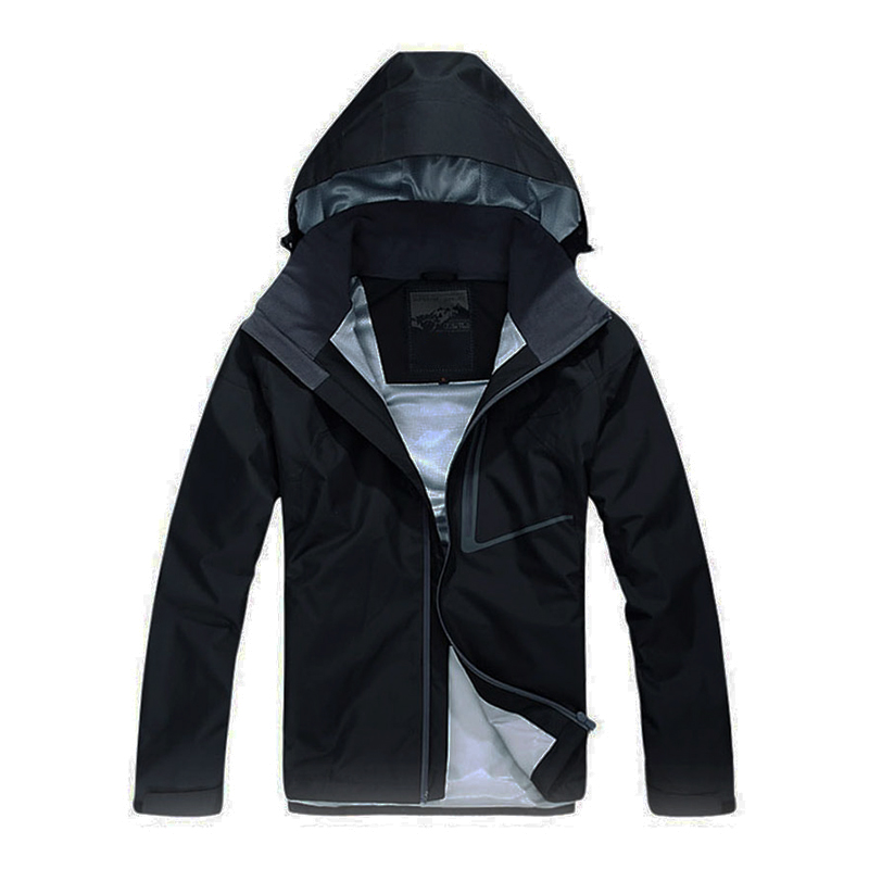 2019 New Arrival Men Trench Coat Spring Windbreaker Men Long Jacket Waterproof Raincoat Jackets Mens Overcoat Long Coat Black