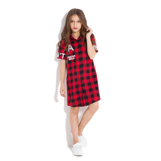 Teen Plaid Dresses