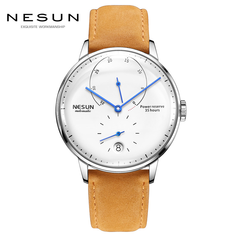 NESUN Brand Watch Men Automatic Mechanical