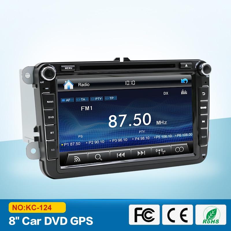 2 DIN Car DVD Player GPS for skoda VW SEAT Altea 220*210*130mm with navigation touch screen car radio gps stereo audio multimedi original new den so dvd navigation mechanism rae3370 for toyo ta b9004 b9001 vw mercedes lexuss audi 2g car audio gps