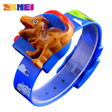 SKMEI Children Watch Cute Child Cartoon Creative Dinosaur Model Boys and girls