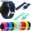 22mm Sports Silicone Strap Watchbands for Samsung Galaxy Gear S3 Classic SM-R770 S3 Frontier SM-R760 SM-R765 Smart Watch