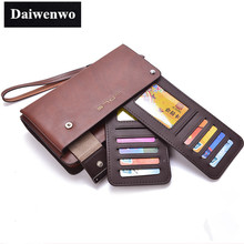 M40 Designer Famous Brand Men Wallet 2015 Fashion High Quality Genuine Leather Mens Luxury Waterproof Travel Necessaries Wallets