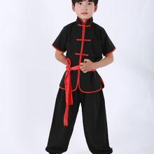 Лидер продаж, превосходное качество, комплект одежды с крыльями, Chun, Tai Chi, китайский костюм Тан, детская одежда для кунг-фу, комплект униформы, детский костюм воина