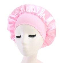 Women Salon Satin Soft Chemotherapy Bonnet Hair Car