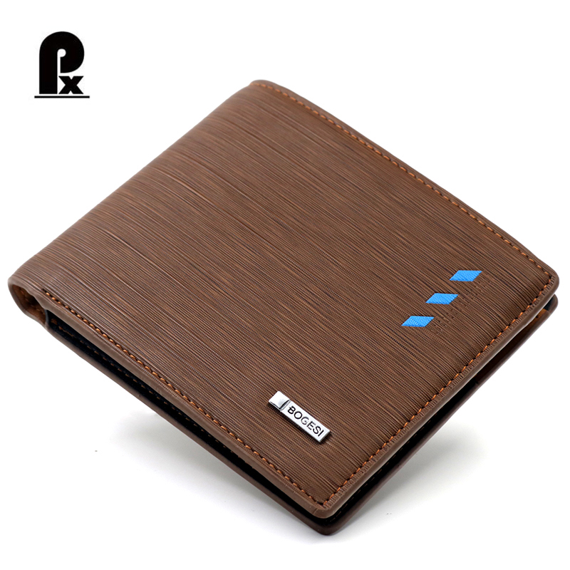 Famous Brand Designer Men Wallets Leather Mens Wallet Male Purses Short Card Holder Purse Cuzdan Portfolio Man Dollor Price Sale baellerry small mens wallets vintage dull polish short dollar price male cards purse mini leather men wallet carteira masculina