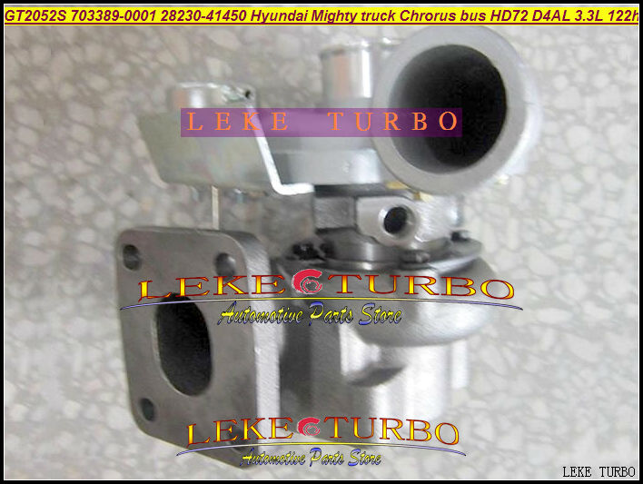 GT2052S 703389-0001 703389-0002 28230-41450 703389 Turbo Turbocharger For Hyundai Might Truck Chrorus bus HD72 D4AL 3.3L 122HP  цены