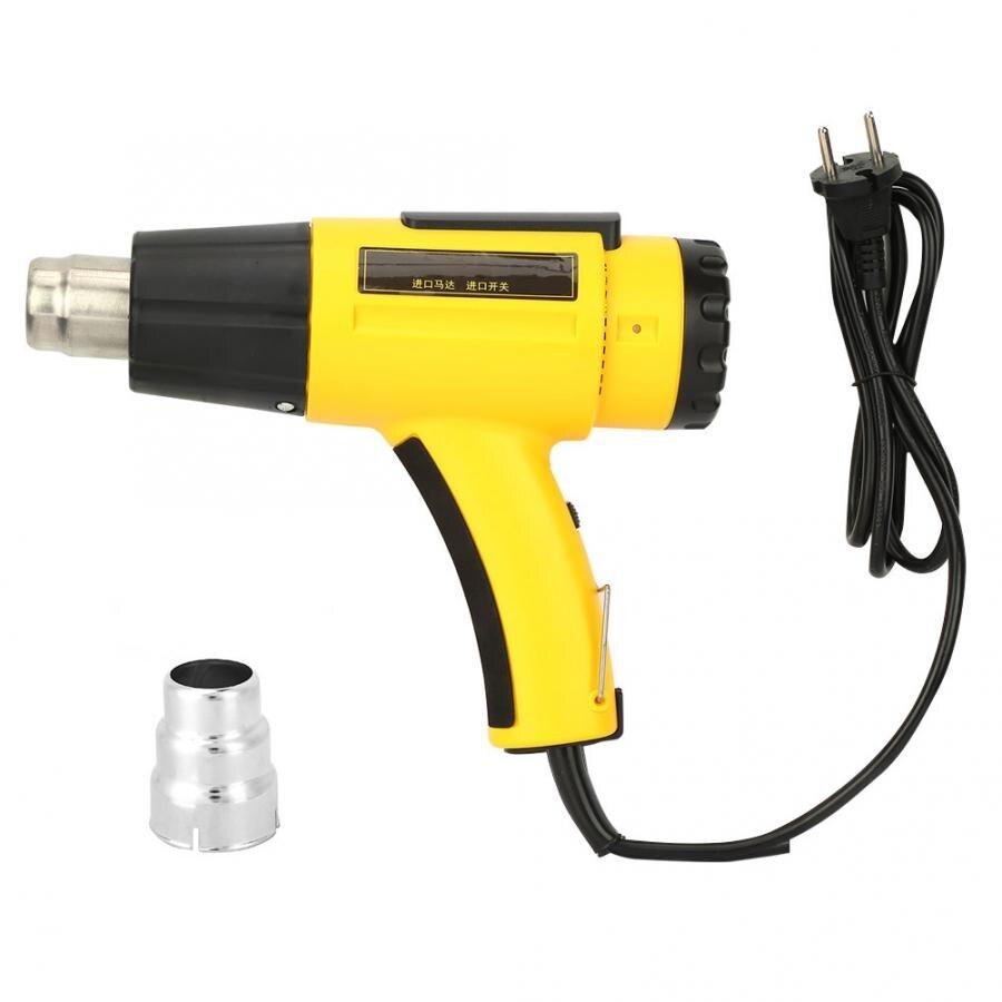 Pistola De Calor Ar quente 220-240 V Hz 50 2000 W Eletrônico Ferramenta de Solda De Ar Quente Para A Decoração envolvimento de psiquiatra