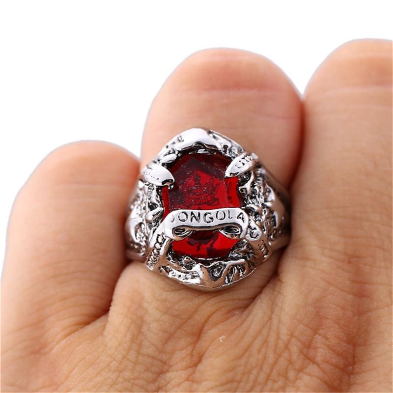 Hot Katekyo Hitman Reborn Vongola Ring Animation Size 8 Rings