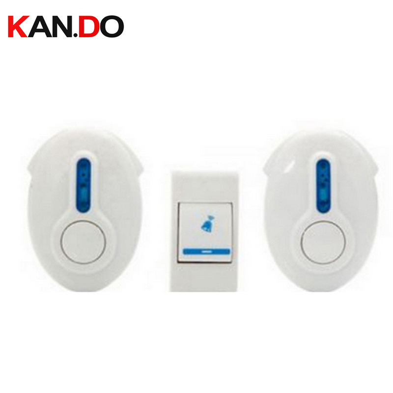 9520FD2 w/ battery 23A 12V receiver power by AA battery wireless door bell doorbell chime economic bell FOR HOME use