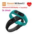 Xiaomi Miband 2 OLED Дисплей Пульс Фитнес-20-ДНЕВНЫЙ Батареи IP67 Смарт Браслет Браслет 100% Оригинал Xiaomi Mi Группа 2