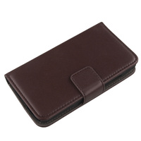 LINGWUZHE Flip Wallet Genuine Leather Case Cover For Alcatel One Touch Idol OT 6030 6030D Back Pouch