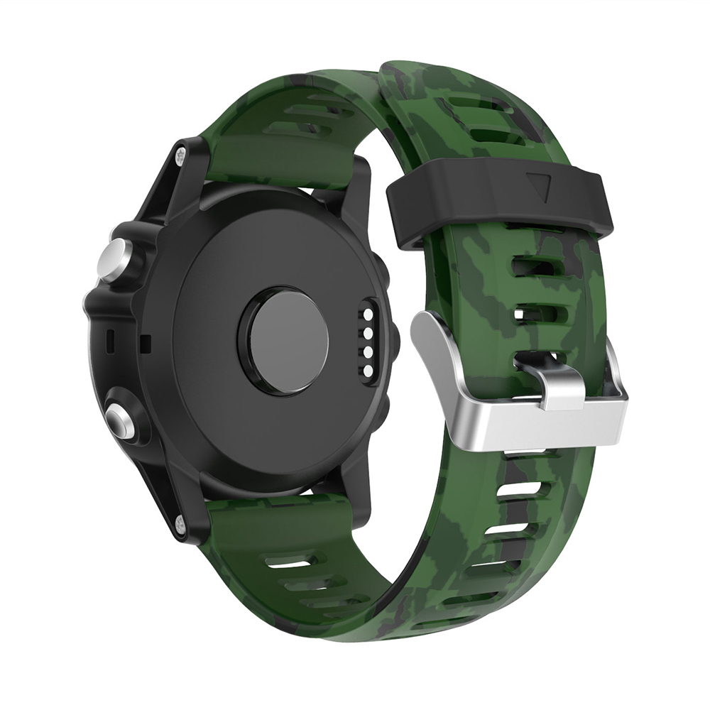 Replacement Band Sport Silicone Watch Band for Garmin Fenix 3HR Fenix 5X Fenix 3 Watchband 26mm Watch Strap for Garmin Fenix 3 in Watchbands from Watches