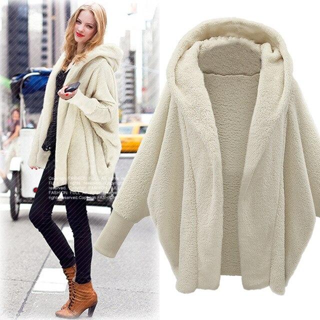 plus size casual women woolen coats 2018 autumn winter