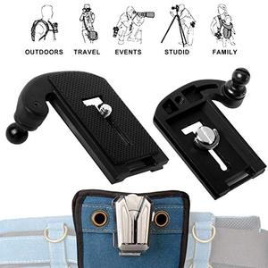 Image 5 - NiYi UK A8S Camera Belt Clip Holster DSLR Camera Waist Belt Buckle Button for DSLR cameras Canon Nikon Sony or Accessories