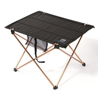 HOT AOTU Folding Lightweight Fishing Beach Camping Outdoor Foldable Table Desk
