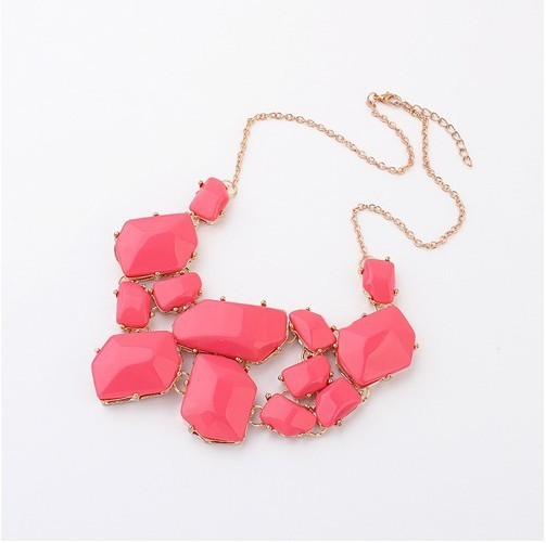 European and American fashion jewel short necklace+ FREE SHIPPING#97755#D22