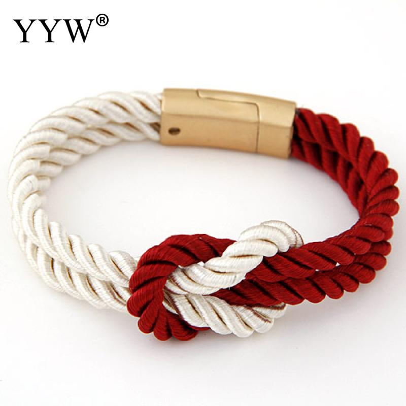 Retro Bracelets Fashion Jewel Nylon Cord Bracelets Men luck red rope Bracelets fashion jewelry