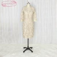 SuperKimJo Mother Of The Bride Dresses Long Sleeve Lace Modest Evening Dress Plus Size Vestidos De