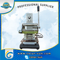 manual hot stamping gilding press machine for pvc cards