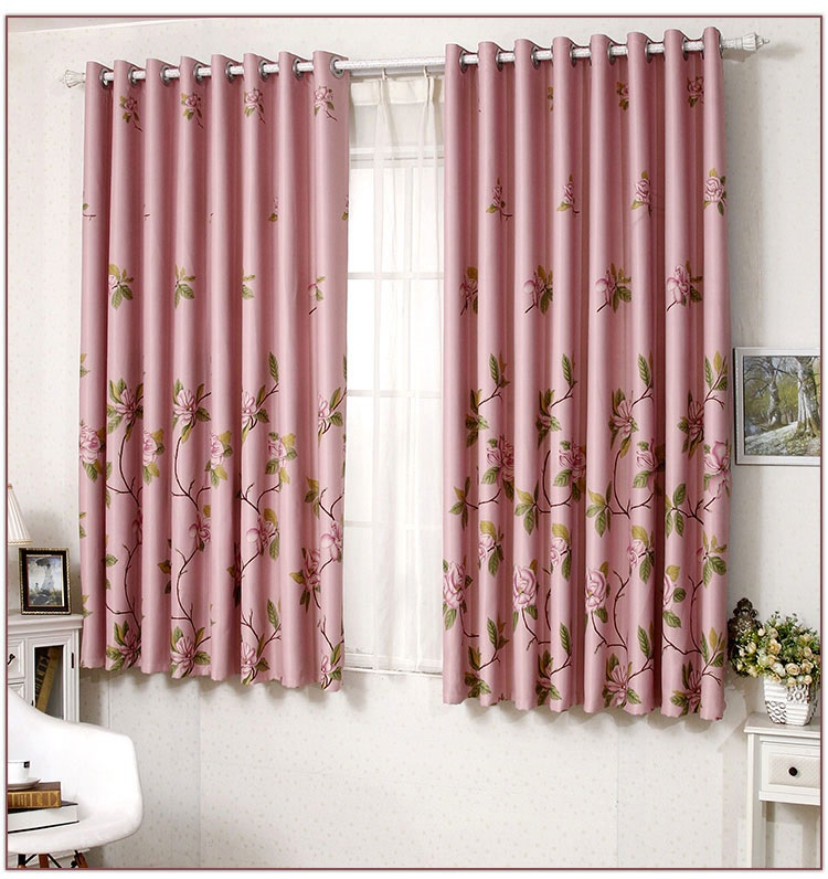 selling short blackout curtains finished for bedroom